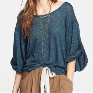 Free People Beach Nani Oversized Tee